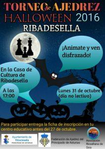 Torneo de Ajedrez Halloween de Ribadesella