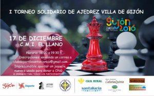 I Torneo de Ajedrez Solidario Villa de Gijón