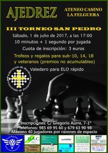 Torneo de Ajedrez San Pedro