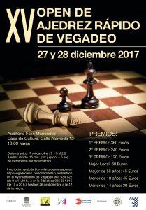 XV Open de Ajedrez Rápido de Vegado