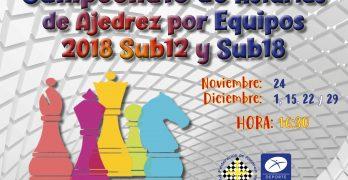 Circular. Campeonato de Asturias por Equipos Sub12-Sub18