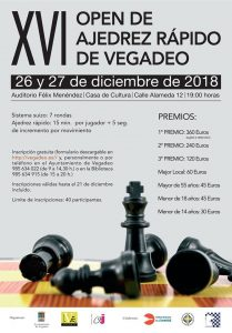 XVI Open de Ajedrez de Vegadeo