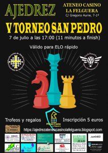 V Torneo de Ajedrez San Pedro