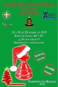 I Torneo de Navidad Sub2200 Club Ajedrez Ensidesa
