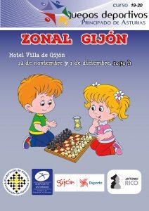 Juegos Deportivos del Principado Zonal de Gijón.